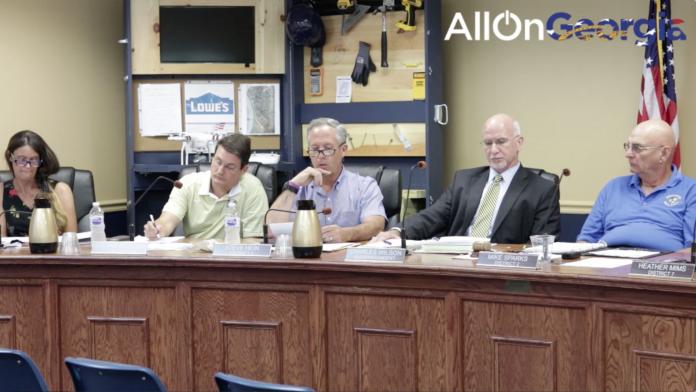 Steve Hein during Board Member comments