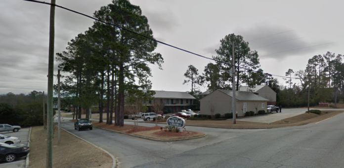 Google Street View Park Place Apartments