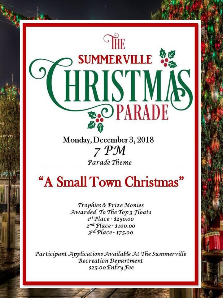 Summerville Georgia Christmas Parade 2021 City Of Summerville Christmas Parade Is Set For December 3rd Allongeorgia