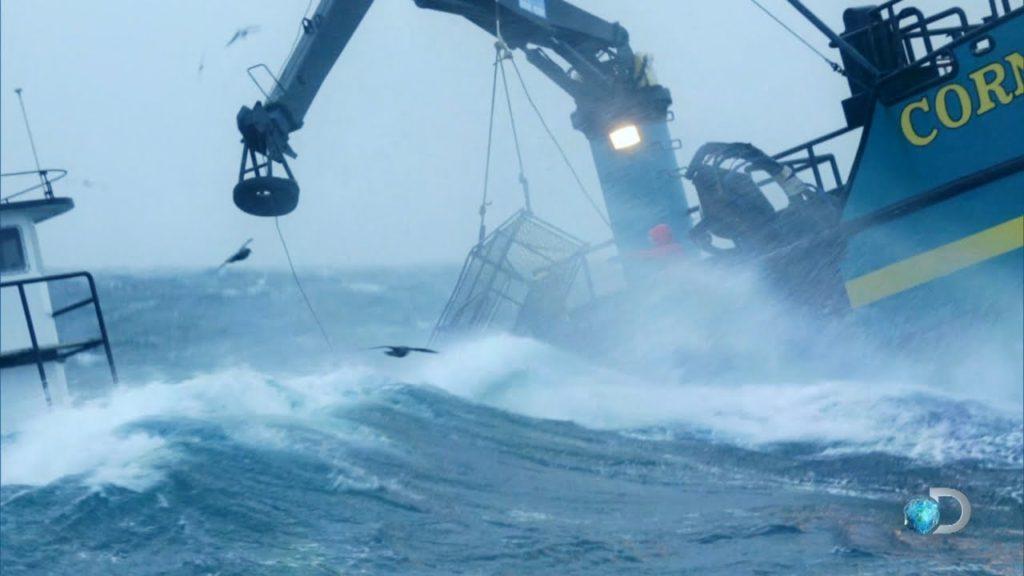 Tracking the Deadliest Catch fleet Infographic