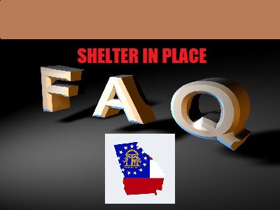 Kemps Office Offers Lengthy Faq Packet On Shelter In Place