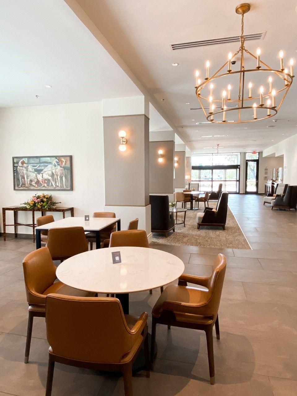 Thomasville Marriott Lobby explore ga